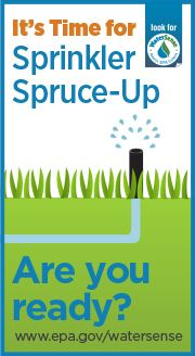 It's Time for Sprinkler Spruce Up. Are you Ready?