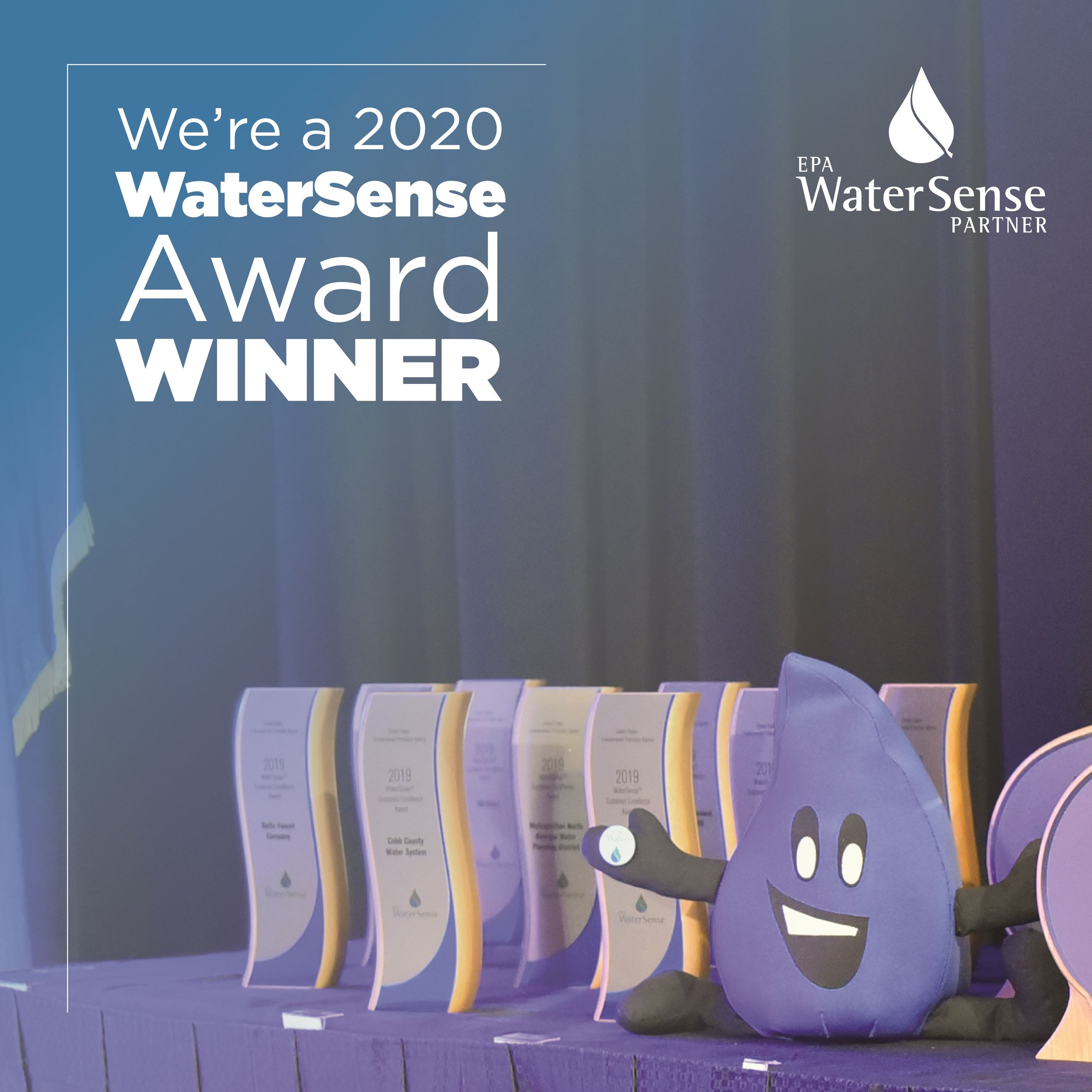 WaterSense Award Winner graphic_Flo With Awards